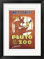 Framed Pluto At the Zoo