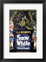 Framed Walt Disney's Snow White and the Seven Dwarfs