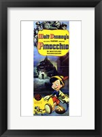 Framed Pinocchio Tall