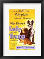Framed Lady and the Tramp Happiest Motion Picture