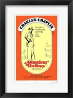 Framed Monsieur Verdoux