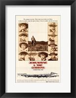 Framed Cowboys & John Wayne