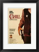 Framed Cahill Us Marshal
