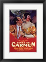 Framed Loves of Carmen