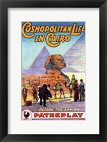 Framed Cosmopolitan Life in Cairo