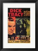 Dick Tracy Comic: Episode 7 Framed Print