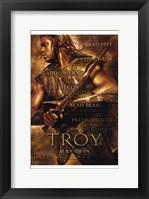 Framed Troy Brown