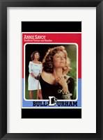 Bull Durham - Annie Savoy Framed Print