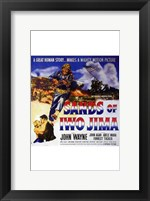 Framed Sands of Iwo Jima - square