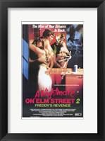 Framed Nightmare on Elm Street 2: Freddy's Reve