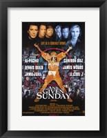 Framed Any Given Sunday