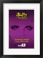 Framed Buffy the Vampire Slayer (Tv) Musical