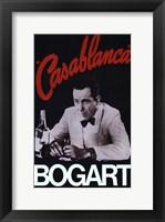 Framed Casablanca Bogart
