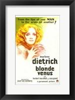 Framed Blonde Venus