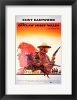Framed Outlaw Josey Wales Clint Eastwood