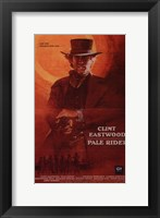 Framed Pale Rider