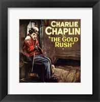 Framed Gold Rush Cold Charlie Chaplin