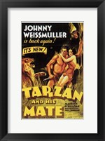 Framed Tarzan and His Mate, c.1934 - style C