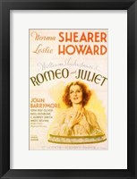 Framed Romeo and Juliet Shearer & Howard