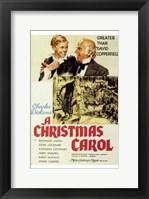 Framed Christmas Carol