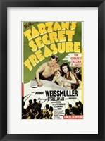 Framed Tarzan's Secret Treasure, c.1941 - style A
