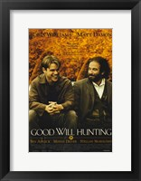 Framed Good Will Hunting Movie