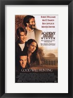 Framed Good Will Hunting Robin Williams