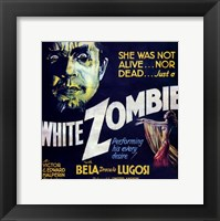 Framed White Zombie - square