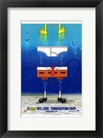 Framed Spongebob Squarepants Movie Pants