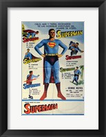 Framed Superman Classic (Spanish)