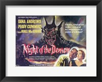 Framed Night of the Demon