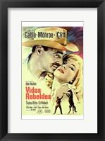 Framed Misfits Clark Gable