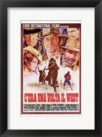 Framed Once Upon a Time in the West Spanish
