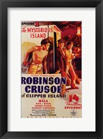 Robinson Crusoe of Clipper Island Episode I Framed Print