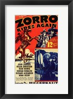 Framed Zorro Rides Again