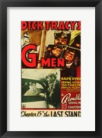 Framed Dick Tracy's G-Men
