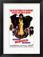 Framed Scream Blacula Scream