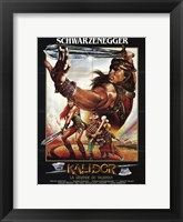 Framed Red Sonja, c.1985 - style A (French)