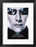 The Matrix Reloaded Neo Framed Print