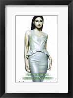 The Matrix Reloaded Monica Bellucci as Persephone Framed Print