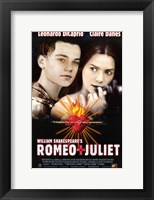 Framed William Shakespeare's Romeo Juliet - movie poster