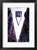 Framed Rocky V