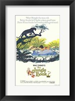 Framed Jungle Book Disney