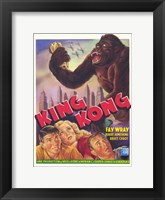 Framed King Kong Fay Wray