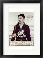 Framed 400 Blows - French