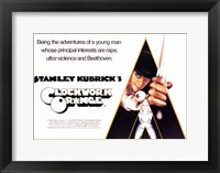 Framed Clockwork Orange Principle Interests