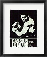 Framed Cassius Le Grand