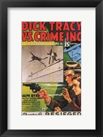 Dick Tracy Vs Crime Inc Chapter 6 Framed Print