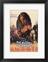 Framed Cat Ballou Jane Fonda