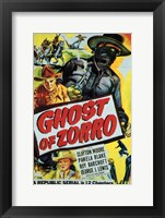 Framed Ghost of Zorro